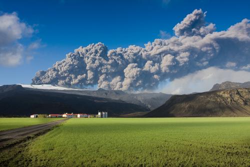 Vdolcano eruption, Eyjafjallajökull