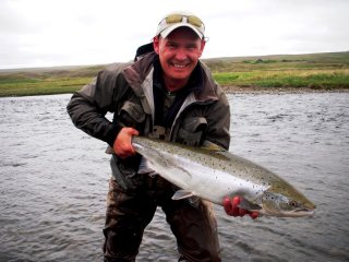 Fl fishing, Salmon,Iceland