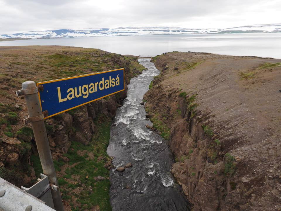 Laugardalsá, salmon fishing in iceland