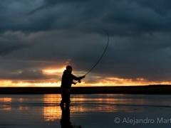 Evening at Rio Grande Argentina