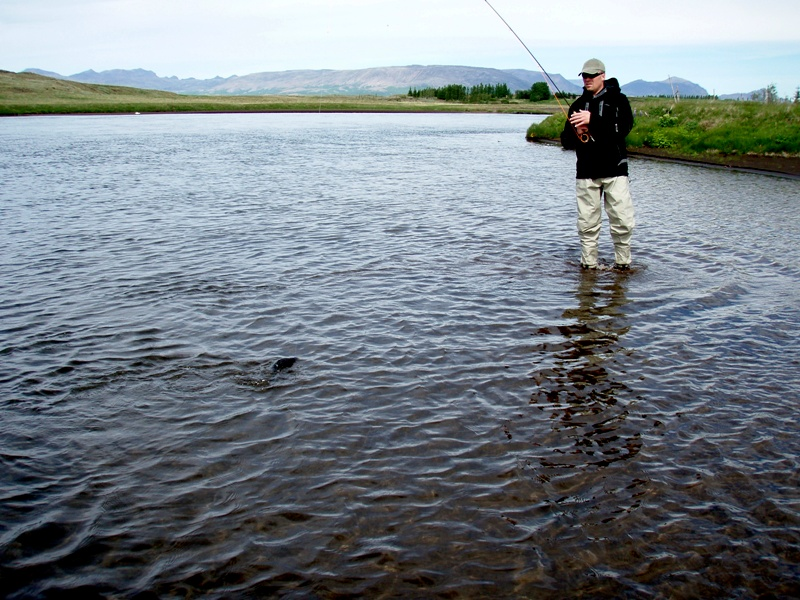 bruara-Fishing in Iceland, River Bruara-Arctic Char