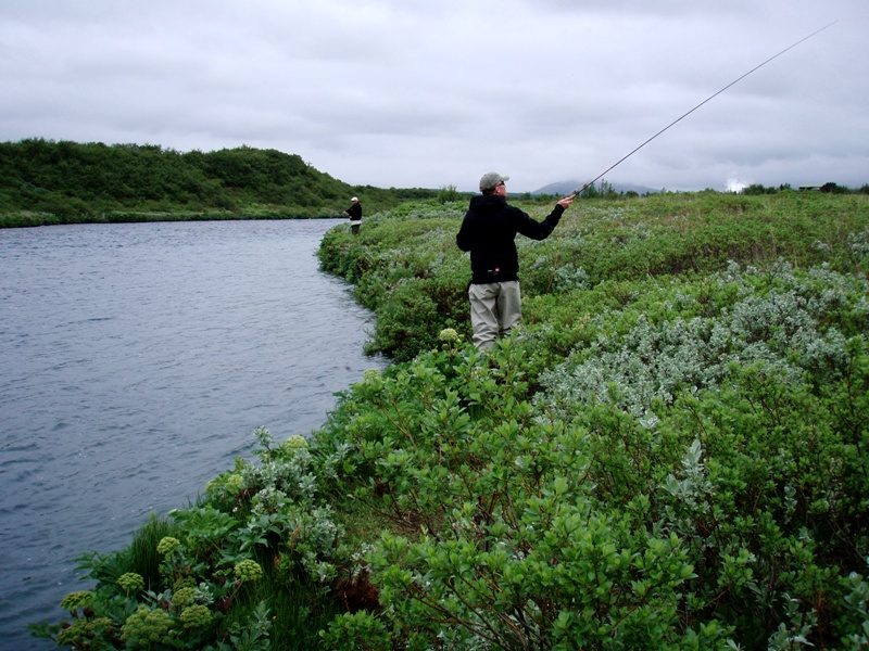 Fishing in Iceland, River Bruara