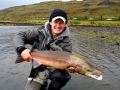 89cm salmon from upper bends