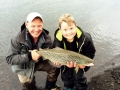 nice trout from Lake Thingvellir