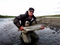 MIdfjardara, salmon fishing in Iceland
