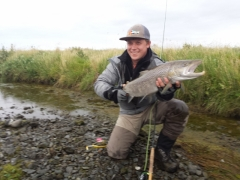 76 cm trout from Varma