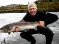 River Fossá, salmon fishing in iceland