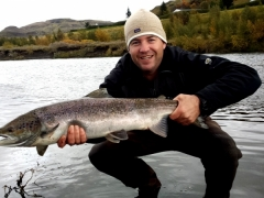 River Fossá, salmon fishing in iceland