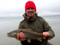 Huge trout from Lake Thingvellir
