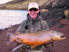 monster trout-iceland