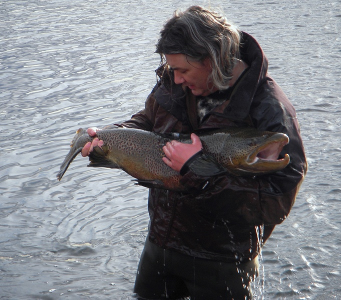 Iceland monster trout