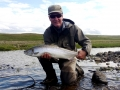 MIdfjardara, salmon fishing in Iceland