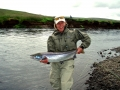 Susan P.Kennedy with nice salmon from Vididalsa