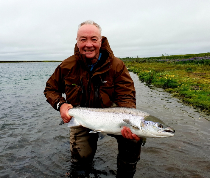 Paul Ryder, West Ranga salmon fishing