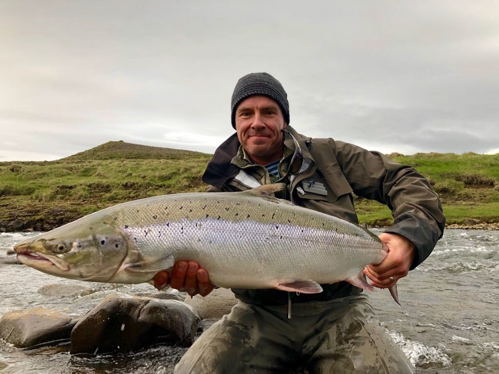 Midfjardara,fishing,Iceland,Flyfishing,Atlantic salmon;