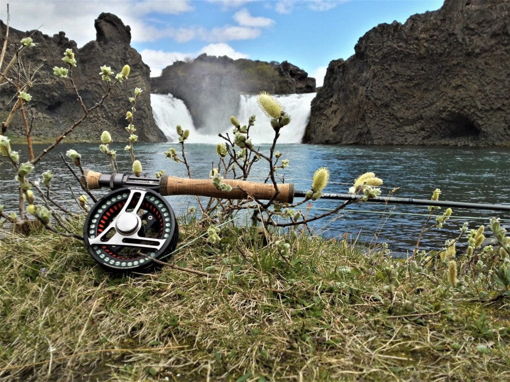 River Fossá, salmon,Iceland, fishing,Fly fishing,Angling