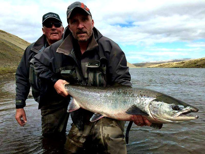 Hjalmar ingi Magnússon-fishing in Iceland-salmon-Midfjardara