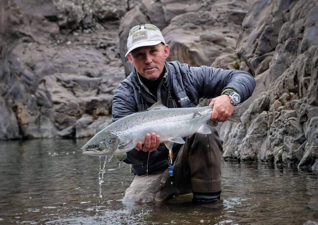Jonni Birgis. atlantic salmon, Iceland, fly fishing, angling, Miðfjarðará, midfjardara