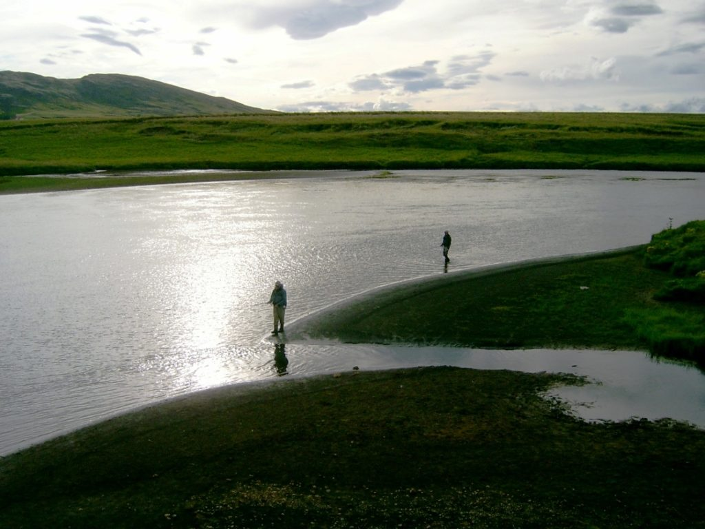 River Bruará, fishing in Iceland, trout, char